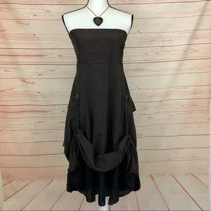 Avatar Clothing Strapless Steampunk Dress